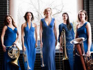 Seraph Brass Quintet promo photo